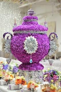 Purple sugar bowl? Preston Bailey