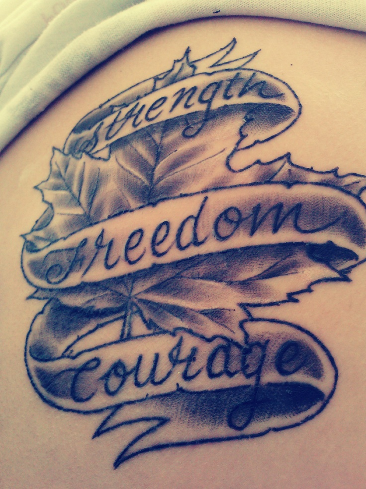 proud to be canadian tattoo random pinterest. Black Bedroom Furniture Sets. Home Design Ideas