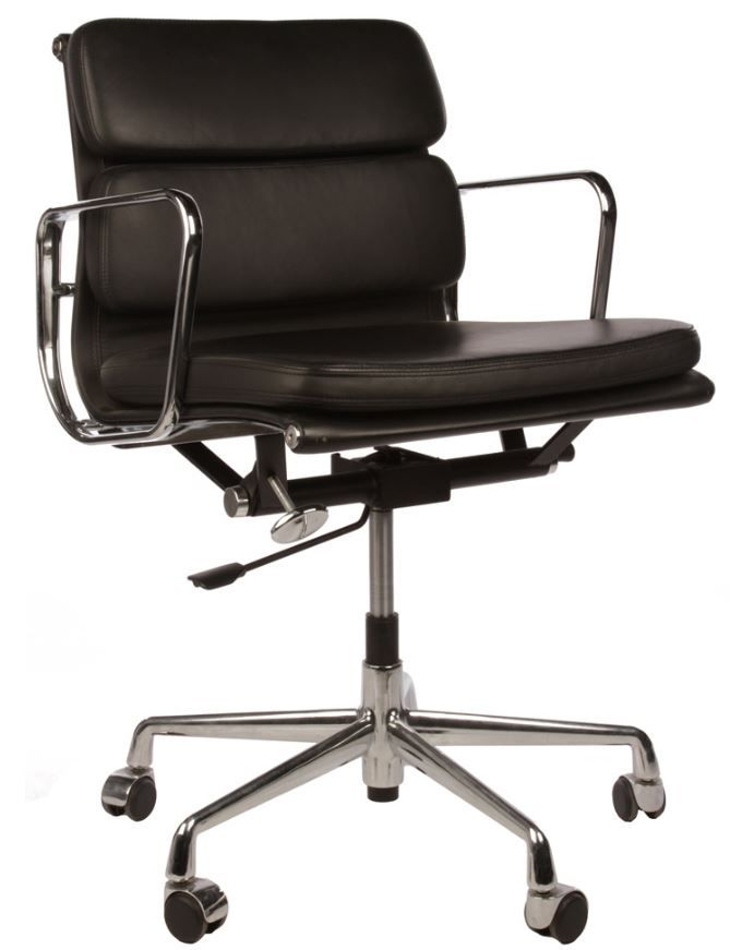 Pin by matt blatt furniture on desks office chairs for Eames alu chair replica