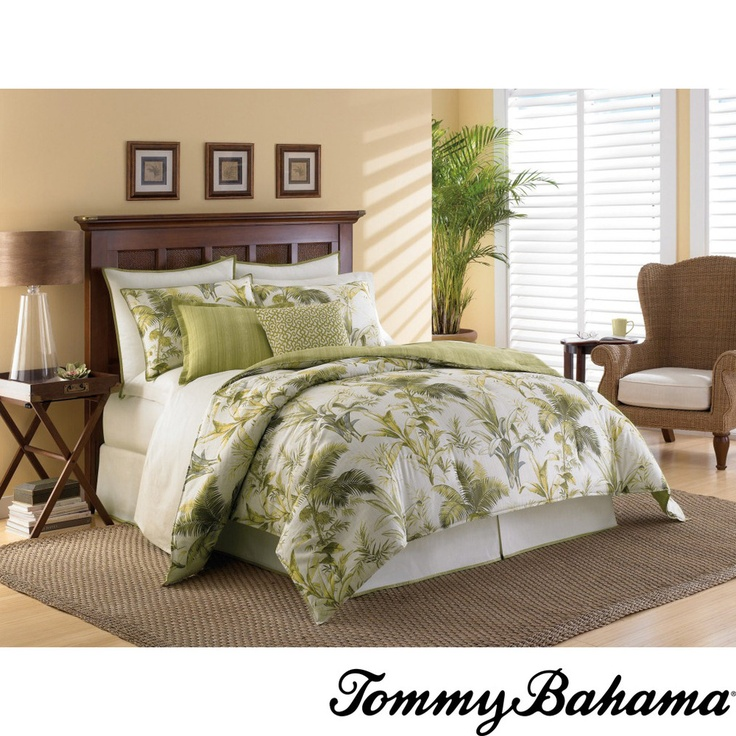 Tommy bahama island botanical 4 piece comforter set Tommy bahama bedding