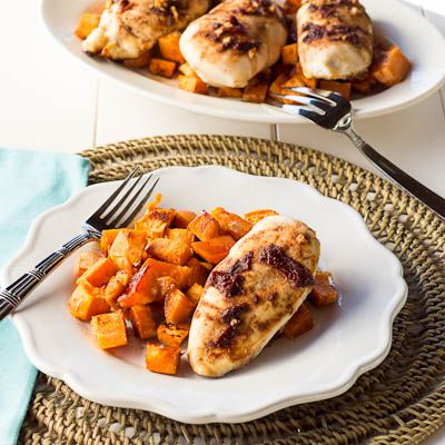 chipotle chicken with sweet potatoes | Recipes to Try | Pinterest