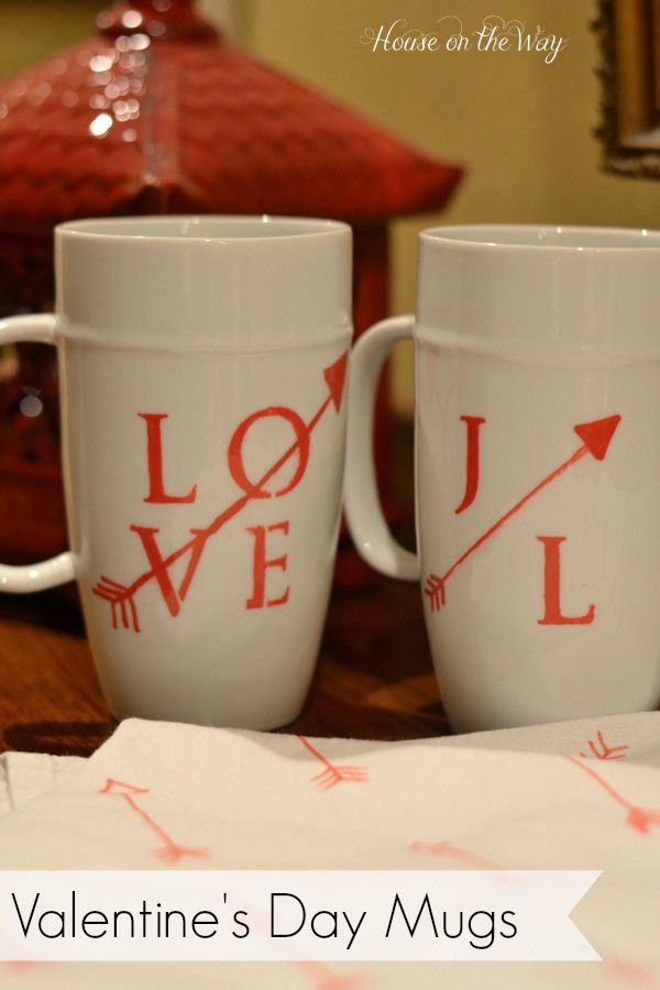 valentine's day mugs for him