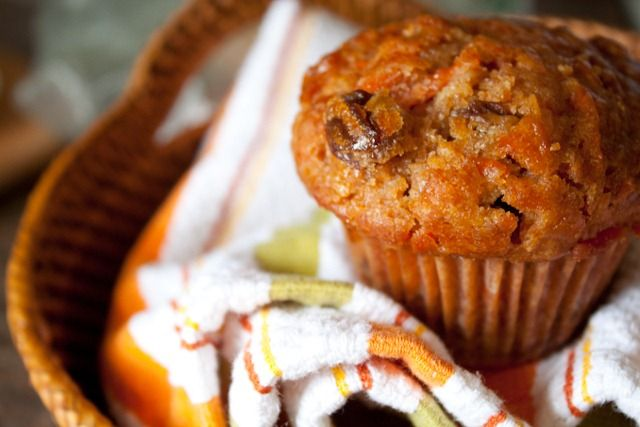 Healthier Morning Glory Muffins | breads..rolls | Pinterest