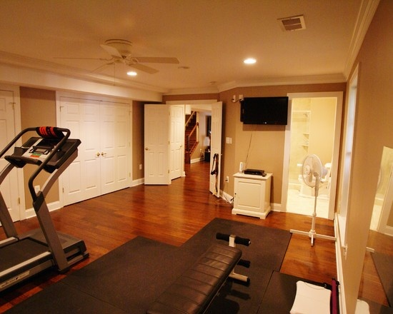 Room or a spare guest bedroom consider turning one into a home gym