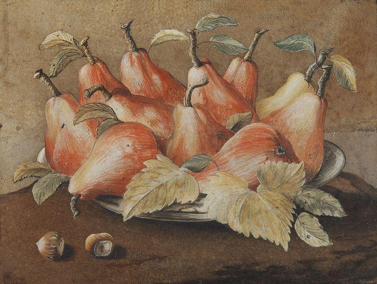 1280px-Джованна Garzoni (1600-1670) - Натюрморт с фундуком Pearsand (1280 × 964)