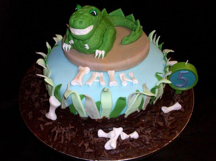 Cake Design Dinosaur : Cake Decorating: Dinosaur Cake Kids birthday party ideas ...