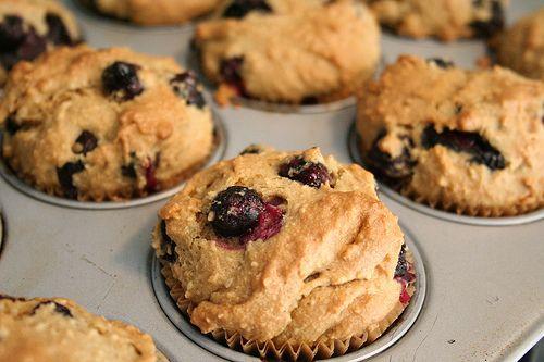 blueberry muffins with almond flour | Gluten Free | Pinterest