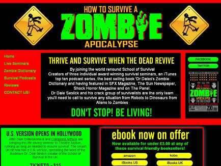 How to survive zombie books ya