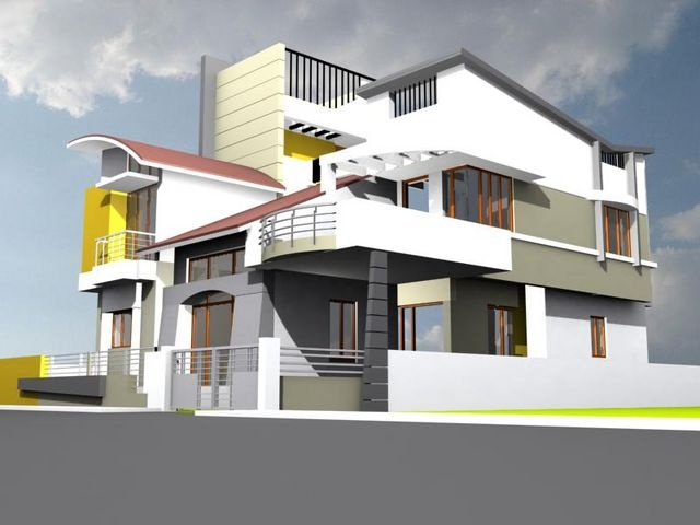 Residential Building Elevations in Bangalore