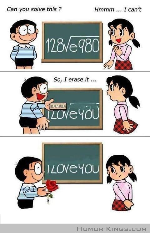 So CORNY! But cute :) New Way To Say Girl I LOVE YOU