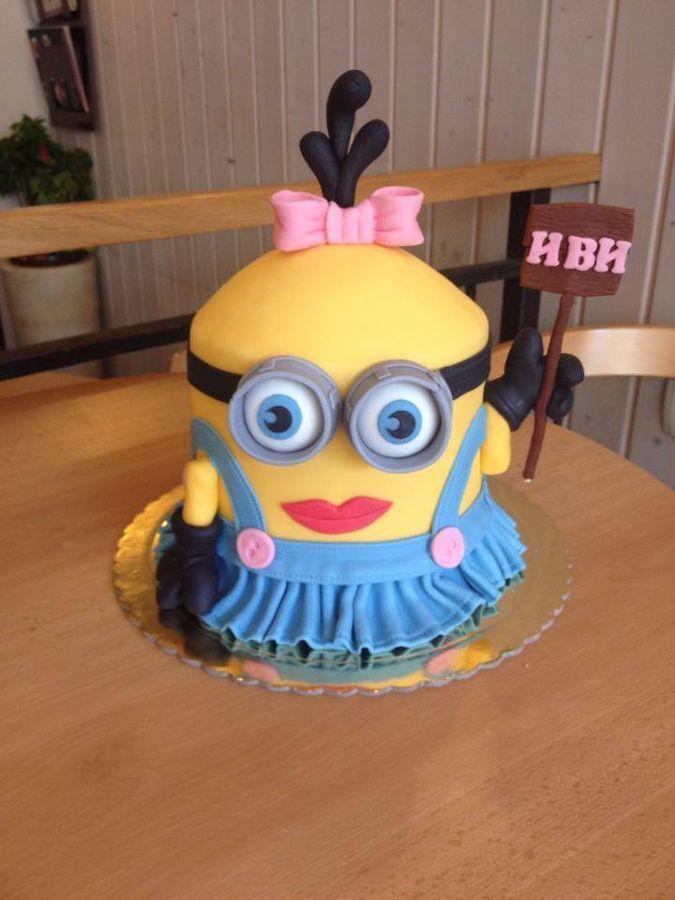 Mignon cake / Despicable me cake