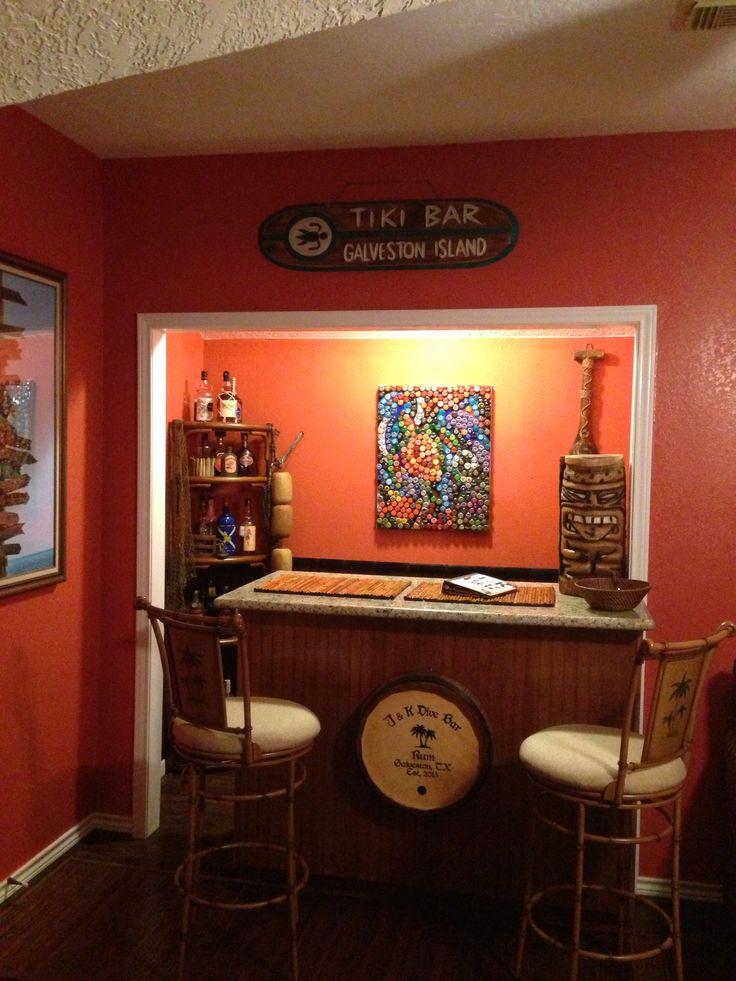 Cool tiki bar pool room decor pinterest - Bar room decor ...
