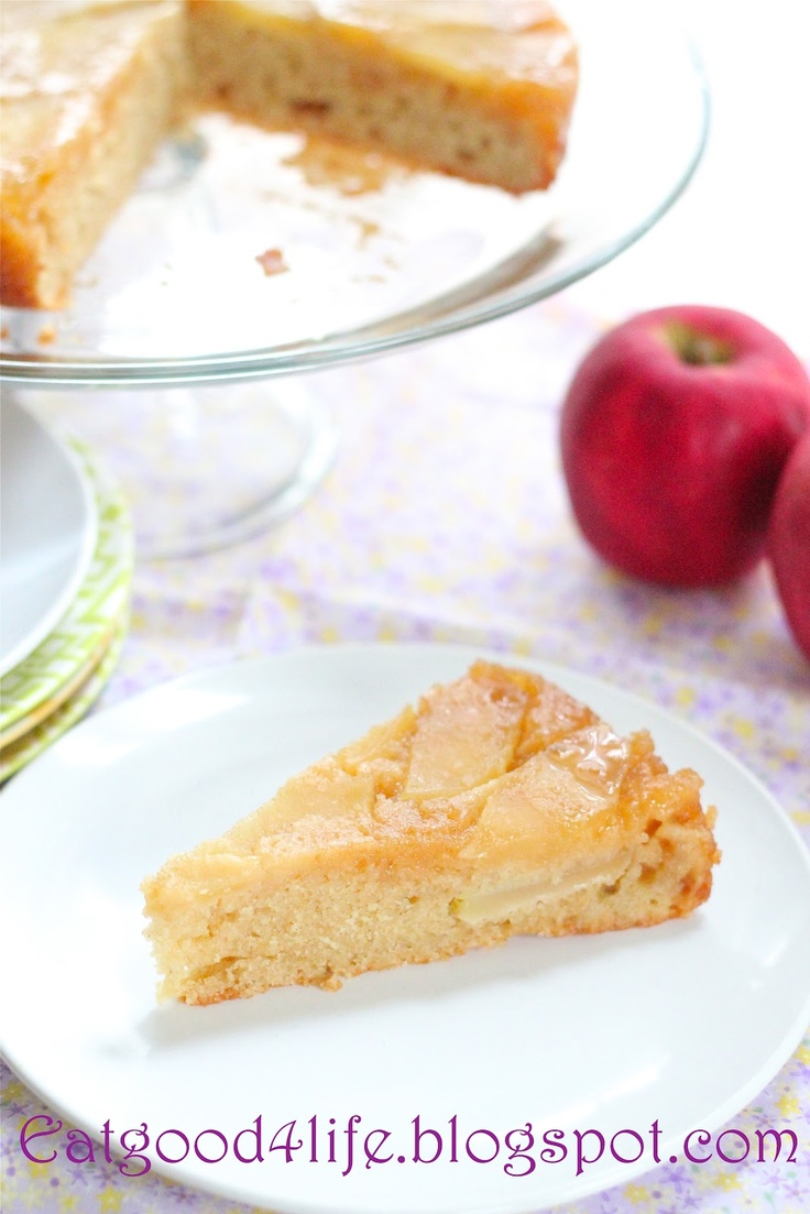 Honey upside down apple cake | Cake and cookies tutorials | Pinterest