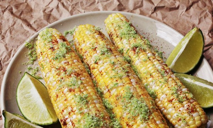 ... corn on the cob/Feta corn on the cob/Butter Nutmeg corn on the cob