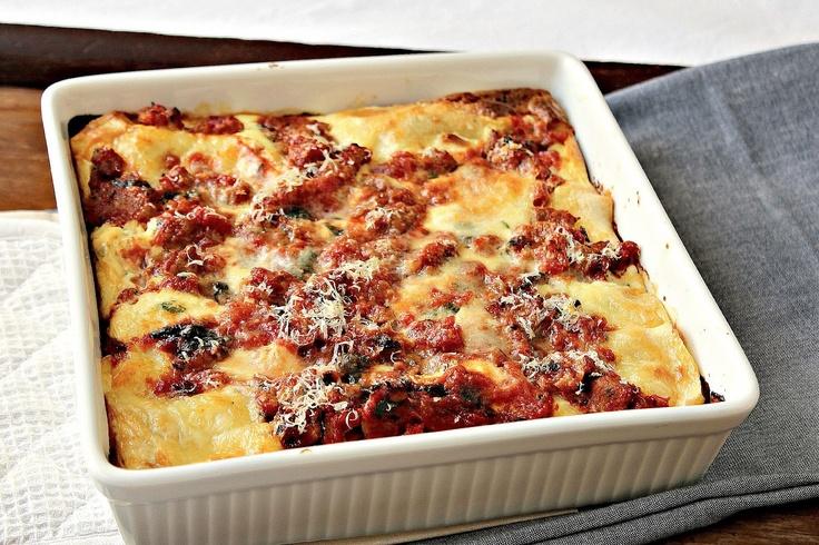 Turkey Sausage Lasagna | Yummy | Pinterest