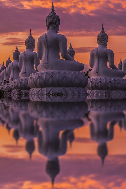 Reflection of Buddha- Thailand
