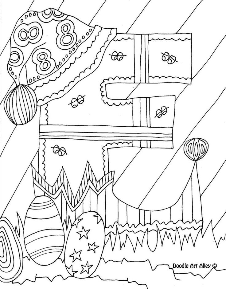 Letter Coloring Pages Doodle Art Alley Shelby Pinterest Doodle Alley Coloring Pages