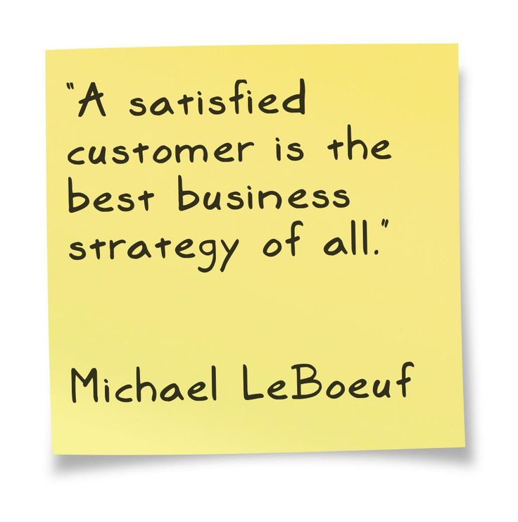 good satisfaction customer satisfaction We all love a good customer satisfaction quote every now and again here's a list of the best 13 quotes i could find.