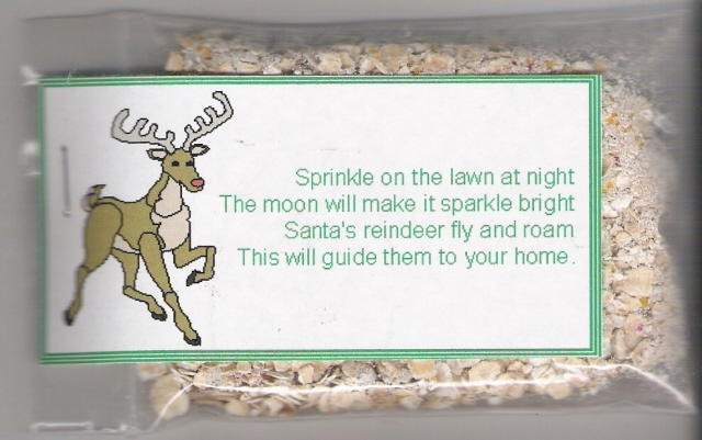 reindeer food poem- I did this with paige and presley every year since ...