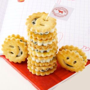 biscuits fourrés au roquefort