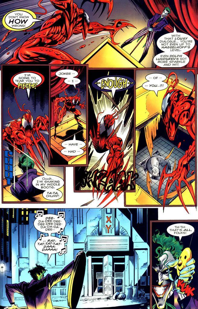 joker vs carnage | crossovers | Pinterest