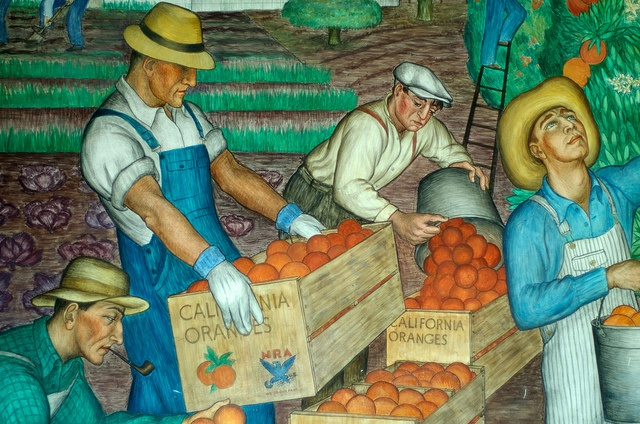 Pin by susan potts on love the usa pinterest for Diego rivera mural 1929