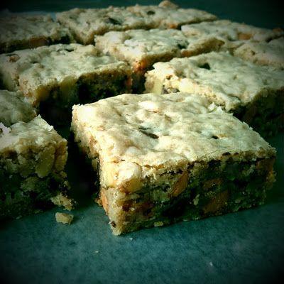 Oatmeal Butterscotch Blondies | sweets | Pinterest