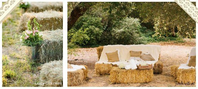 canap en bottes de paille mariage ambiance d coration pinterest. Black Bedroom Furniture Sets. Home Design Ideas