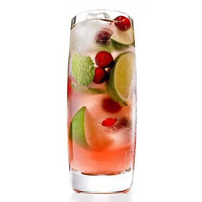 Cranberry Mojito | This delicious sweet-tart combo makes a refreshing ...