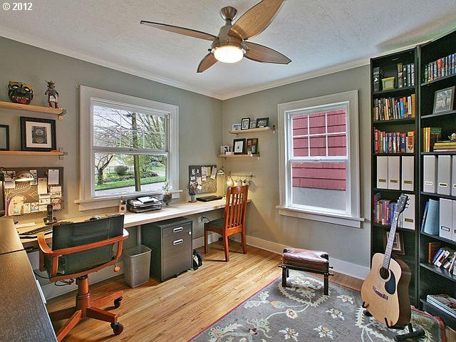 Small bedroom office home pinterest for Small room office