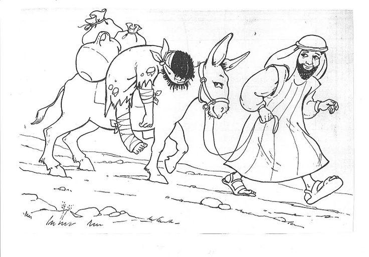 good samaritan coloring and activity sheets coloring pages - Good Samaritan Coloring Pages