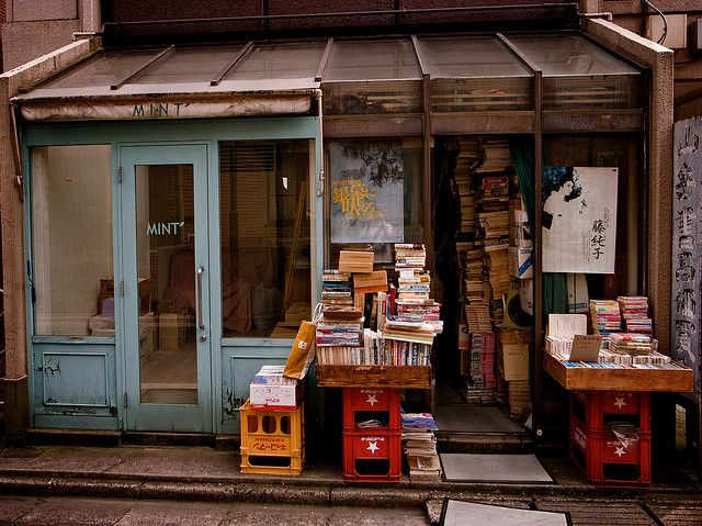 bookshop in japan by jldmplnktt, via Flickr