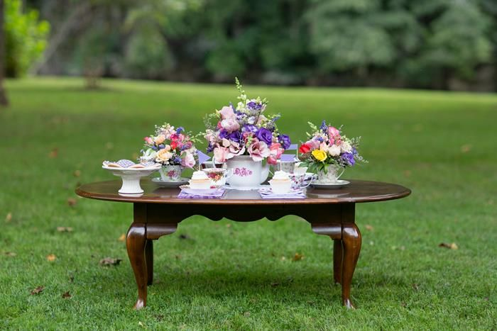 Garden Tea Party with Lots of Cute Ideas via Kara's Party Ideas | KarasPartyIdeas.com #TeaTime #Party #Ideas #Supplies (19)