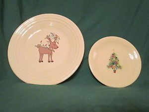 Reindeer luncheon plate amp christmas tree b amp b plate i want these