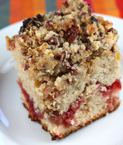 Maple Cranberry Coffee Cake Recipe | Delicious recipes | Pinterest