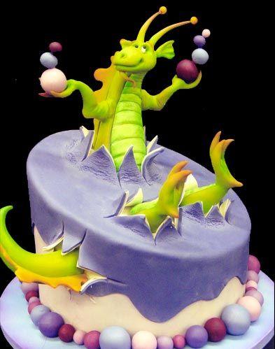 dragon Cakes