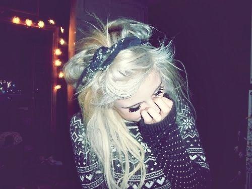 girl | Tumblr | Hipster Hair | Pinterest