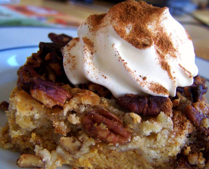Pumpkin Praline Dessert #Thanksgiving | Recipes - Nom, nom, nom | Pin ...
