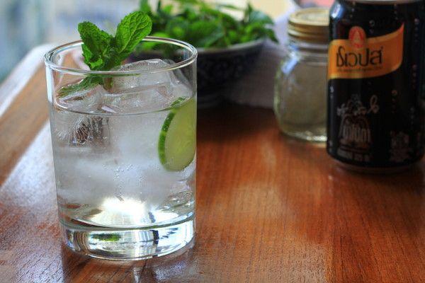Cucumber, Mint, and Basil Soda | Recipe