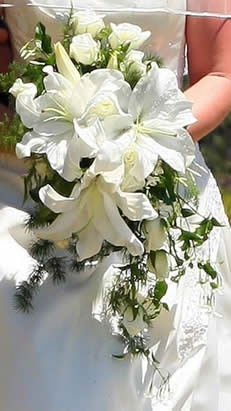 Casablanca Brides Bouquet 87