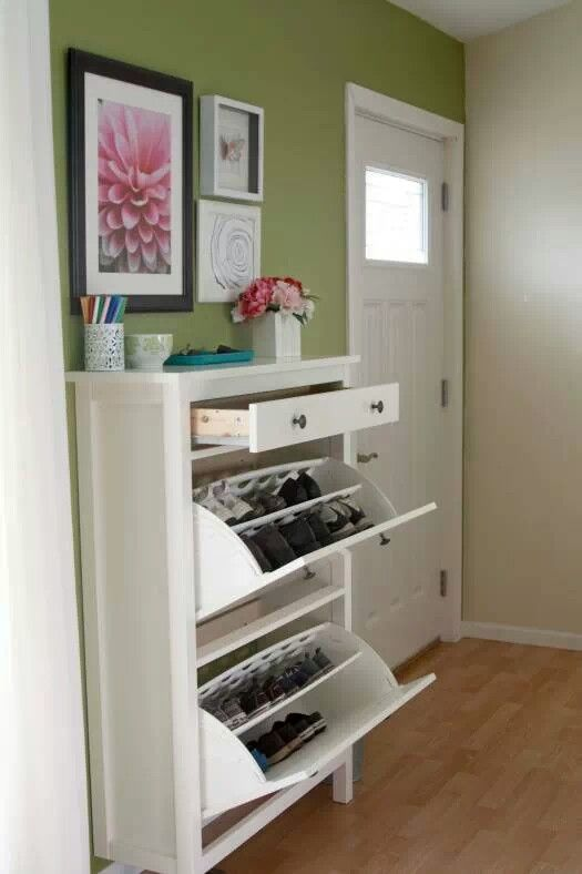 shoe storage ikea hemnes for the home pinterest
