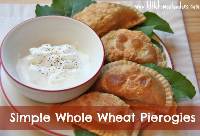 Whole Wheat Pierogies