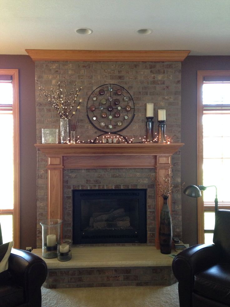 fireplace decor ideas for the home pinterest