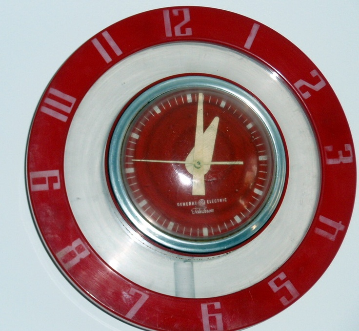 50 39 S Retro Kitchen Wall Clock Kitchen Pinterest