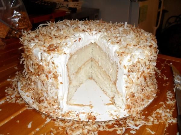 ... Coconut Layer Cake My filling will be made with cream of coconut ,sour