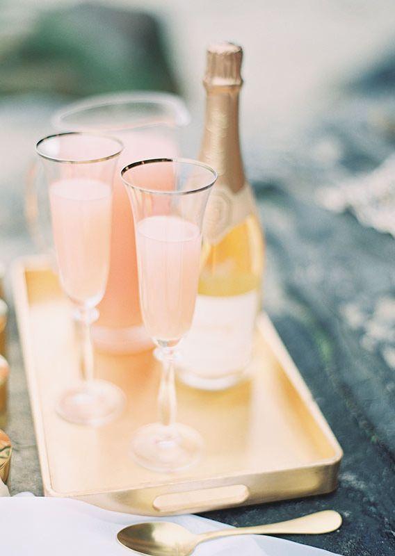 Peach bellinis.  Keywords:  #weddingreceptiondrinkideas #jevelweddingplanning Follow Us: www.jevelweddingplanning.com  www.facebook.com/jevelweddingplanning/