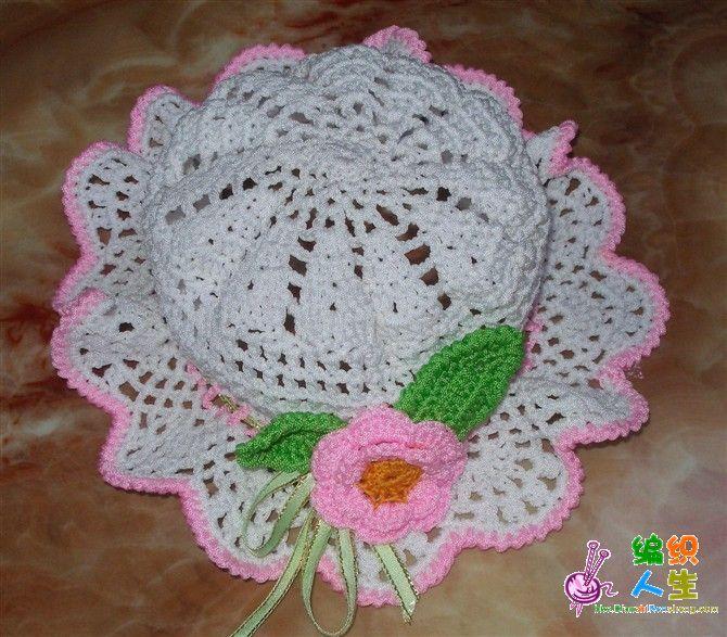 Baby Sun Hat free crochet graph pattern Patterns I have ...