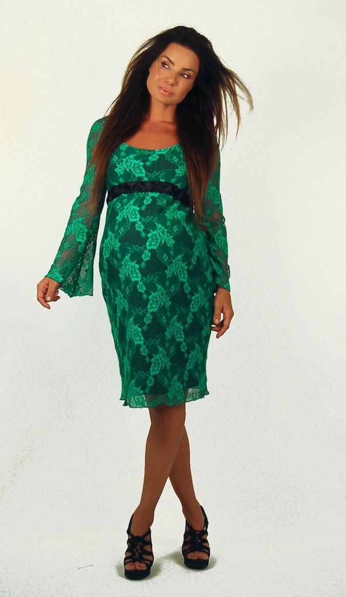 beautiful stretch lace maternity dresses for your autumn baby sho