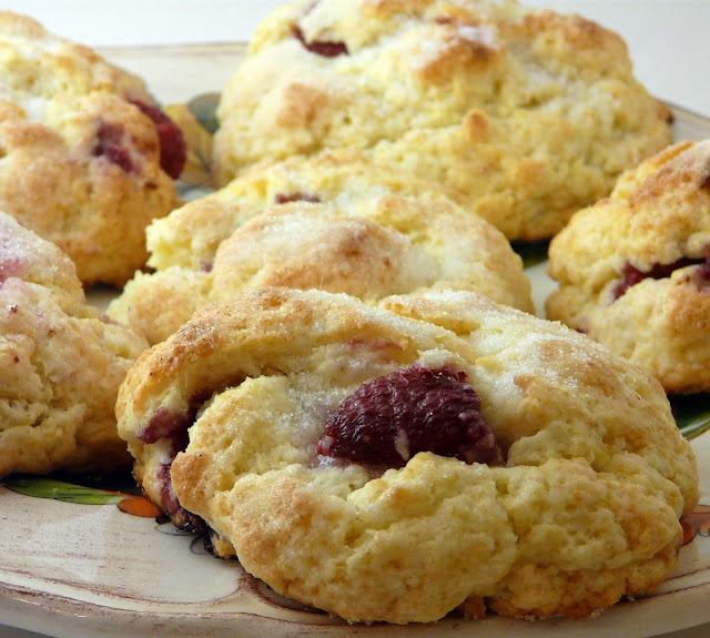 Raspberry Scones | Muffins & Scones | Pinterest