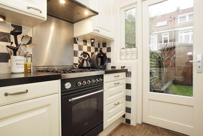 Natuursteen Wandtegels Keuken : Natuursteen Wandtegels Keuken : zwart wit wandtegels keuken keukens